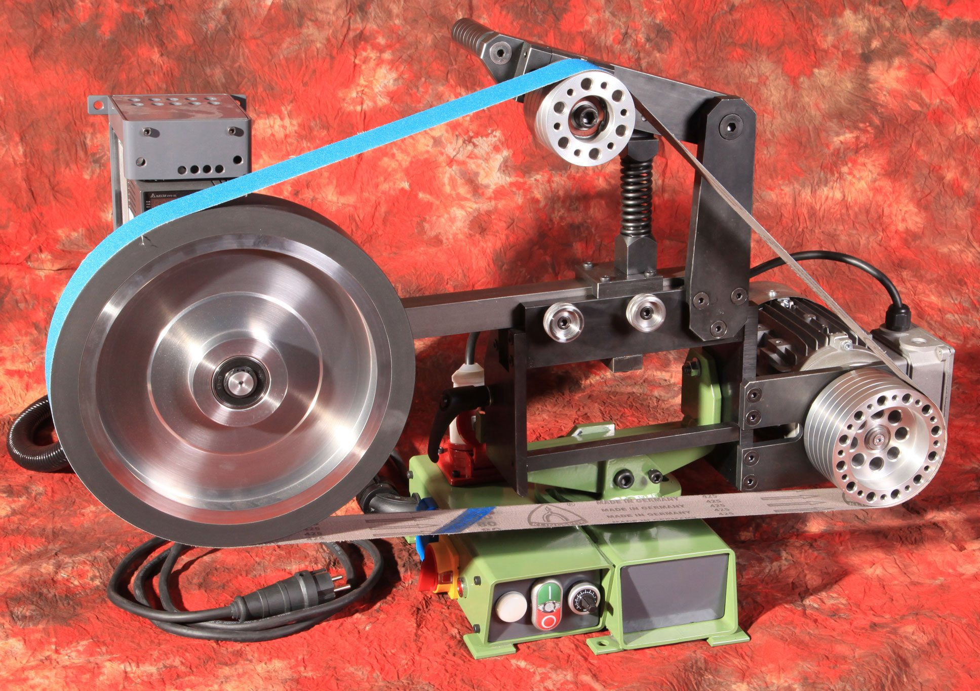 belt grinder for knife making