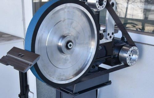 contact wheel for knife making